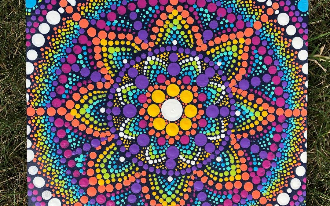 Dot Mandala Paint Class Hosted by Leann Reid