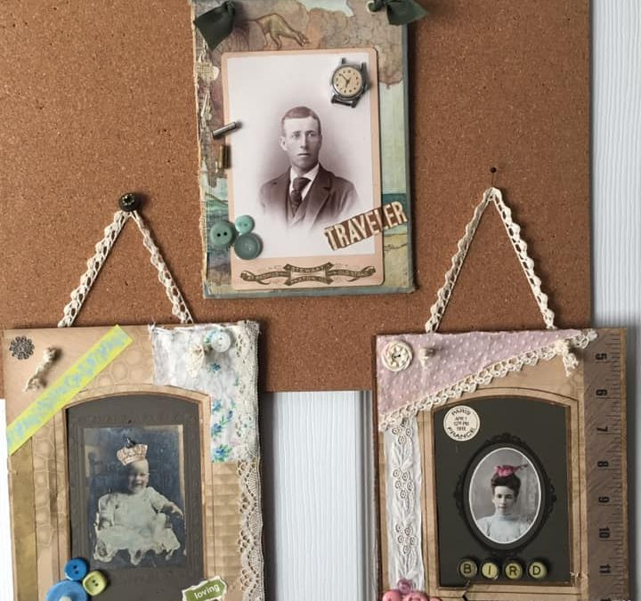 Altered Vintage Photo Class Hosted by Beth Esner