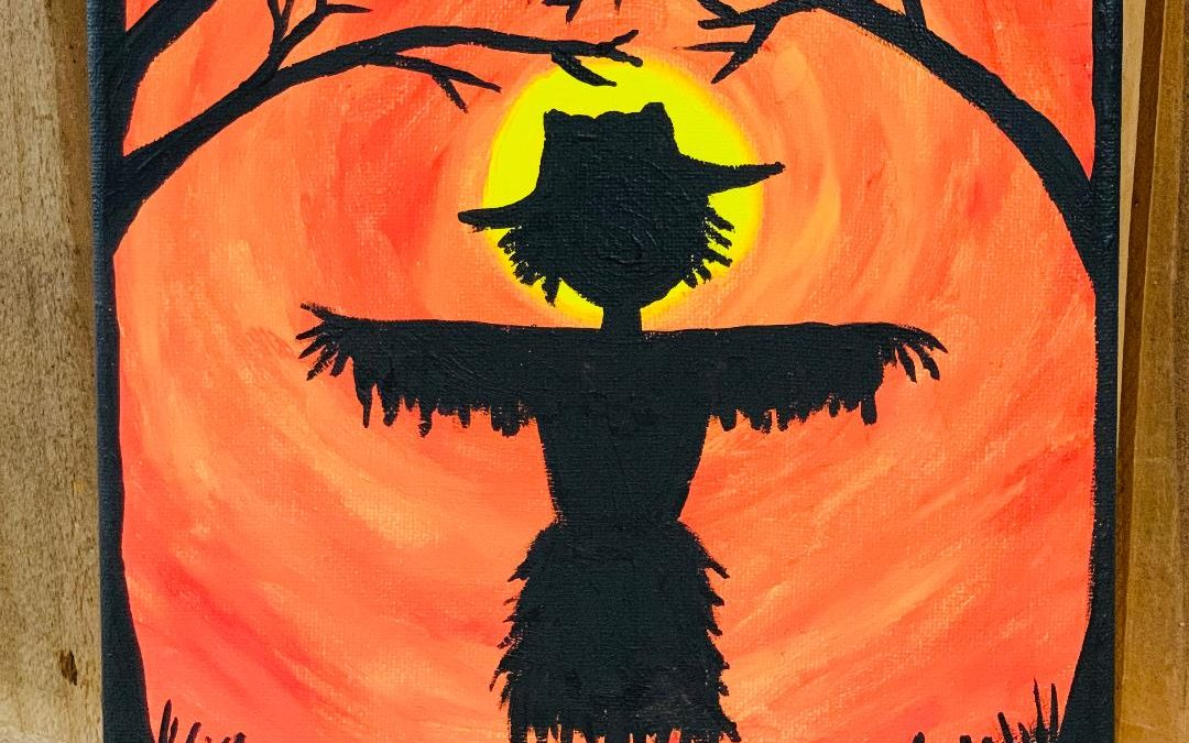 Scarecrow Painting Party Hosted By DeeDee