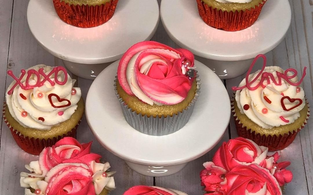 Valentine Cupcake Class Hosted by Yvonne Tate