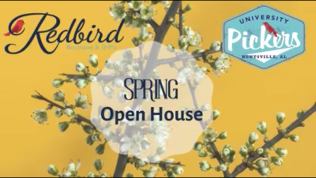 Spring Open House at University Pickers
