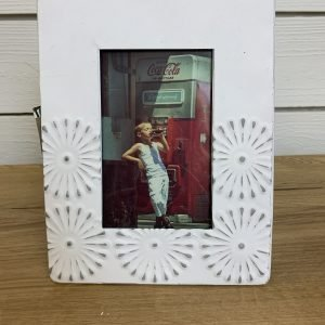 Tin White Frame
