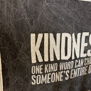 Kindness Canvas Wall Hanging