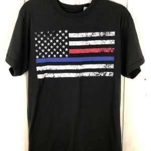 Thin Blue Line & Thin Red Line T-shirt