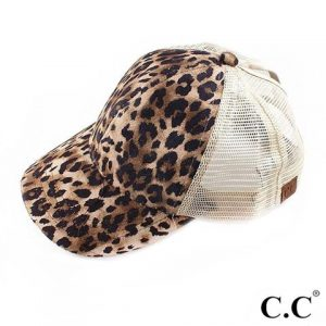 hat leopard pint animal print cap