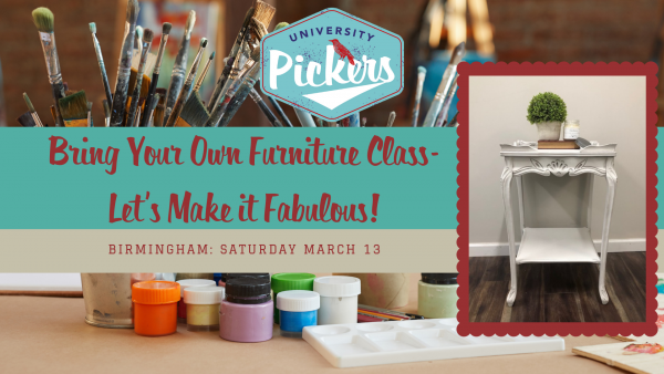 Bring your own piece painting class