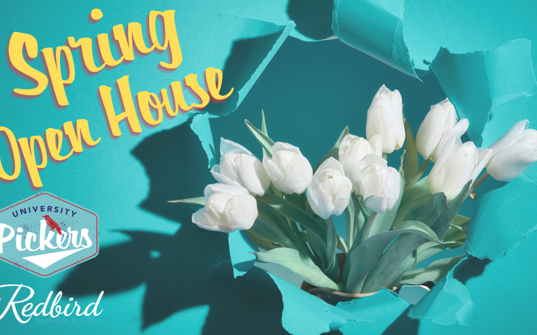 University Pickers and Redbird Boutique Spring Open House – Huntsville