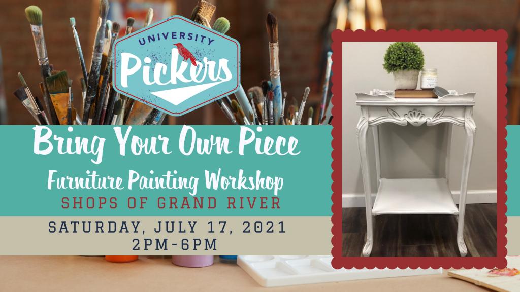 Paint Your Own Piece & Make it Fabulous