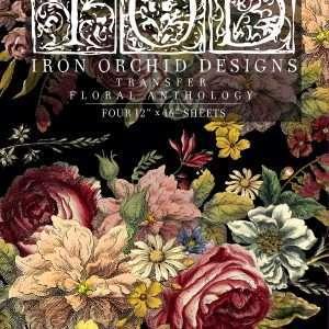 Floral Anthology Transfer