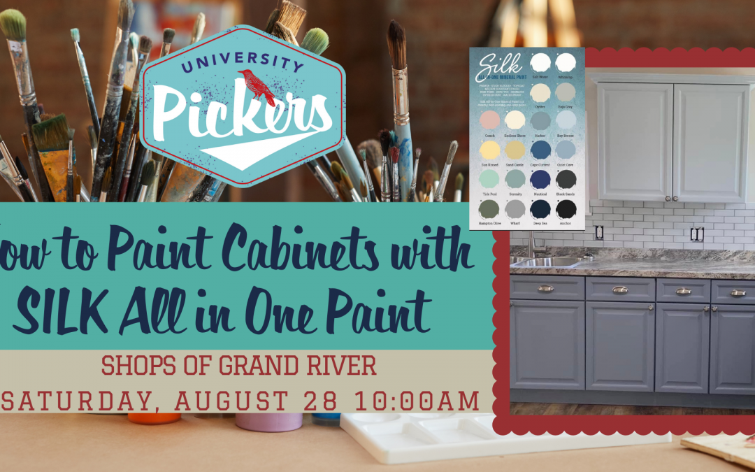 How to Paint Cabinets with SILK All in One Paint