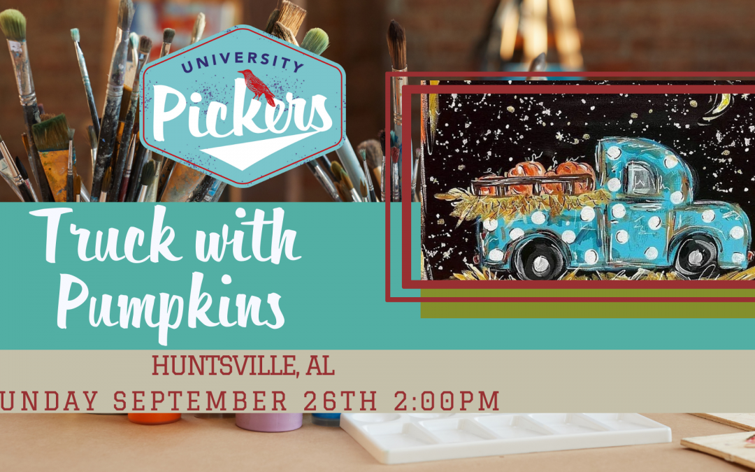 Truck with Pumpkins Painting Class